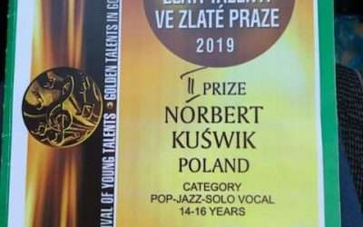 "XI International Festival of Young Talents – ""Golden Talents In Golden Prague 2019"""